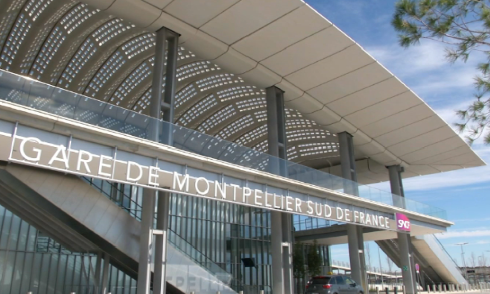 Image de la gare TGV Sud de France